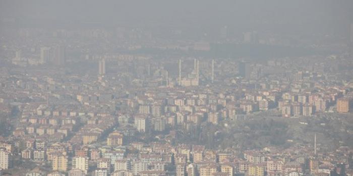 Hava kirliliğinde Ankara'nın da sicili kötü