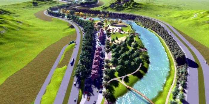Yeşil Vadi Projesi yıl ortasında tamamlanacak