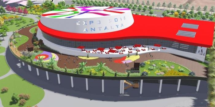 Antalya'ya dev kongre merkezi