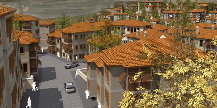 İlk TOKİ şehri Gaziantep'te yükselecek