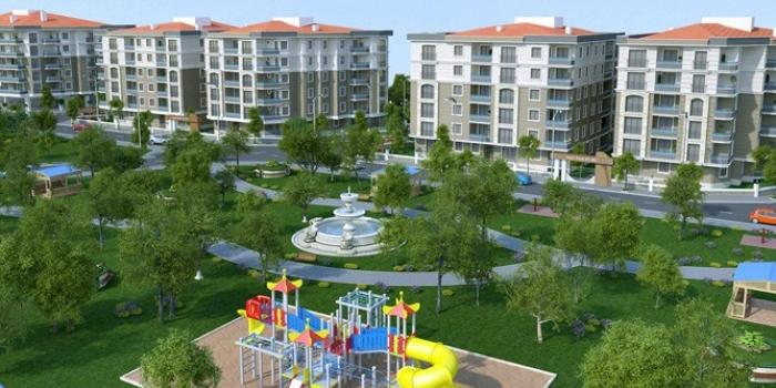 Gümüş inşaat yeşil park evleri