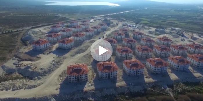 Toki İzmir - Çeşme konutları