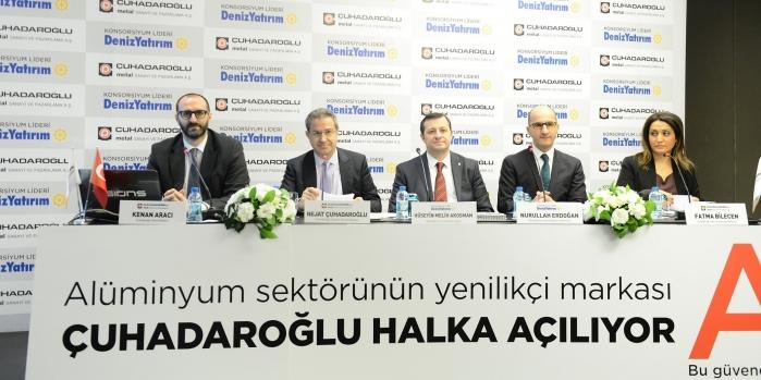 Çuhadaroğlu'nun halka arz süreci başladı