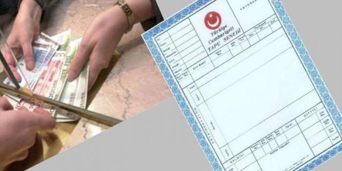Tapuda trampa için istenen belgeler