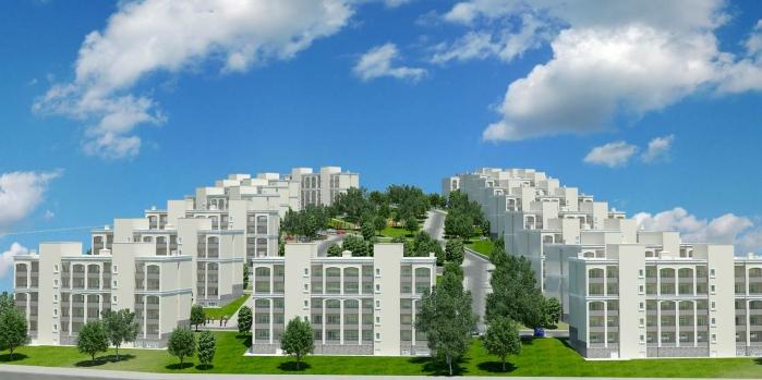 TOKİ'den Reyhanlı'ya 414 konut