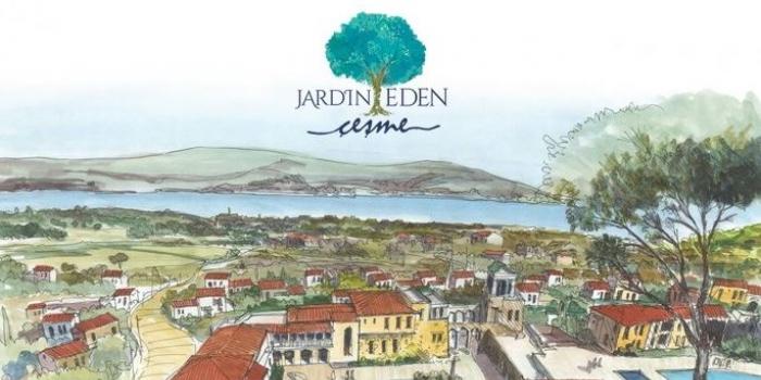 Jardin Eden Çeşme'de yükseliyor