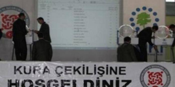 Kırıkkale Bahşılı Toki Konutları kura sonuçları