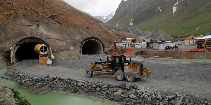 Ilgaz Tüneli projesinde sona doğru