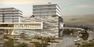 Sur Yapı Axis İstanbul'da metrekaresi 20 dolara kira garantili ofis!