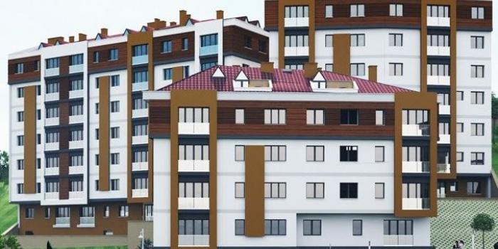 Yeşildağ sıra evler projesi