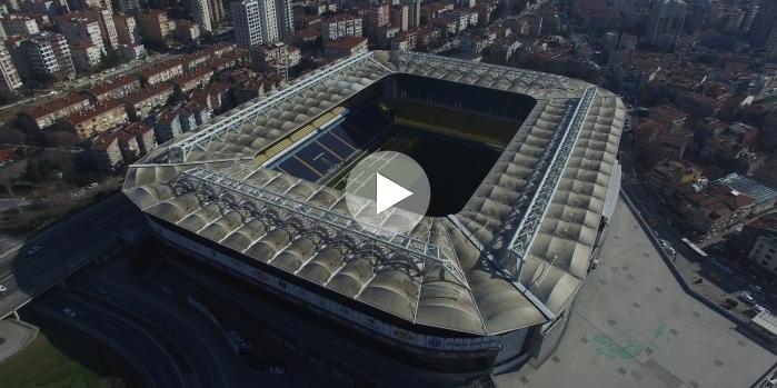 Şükrü Saraçoğlu Spor Kompleksi drone çekimi
