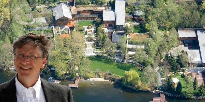 Bill Gates'in muhteşem malikanesi hakkında bilinmeyenler