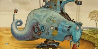 Sürrealist ressam Jacek Yerka'nın fantastik dünyası