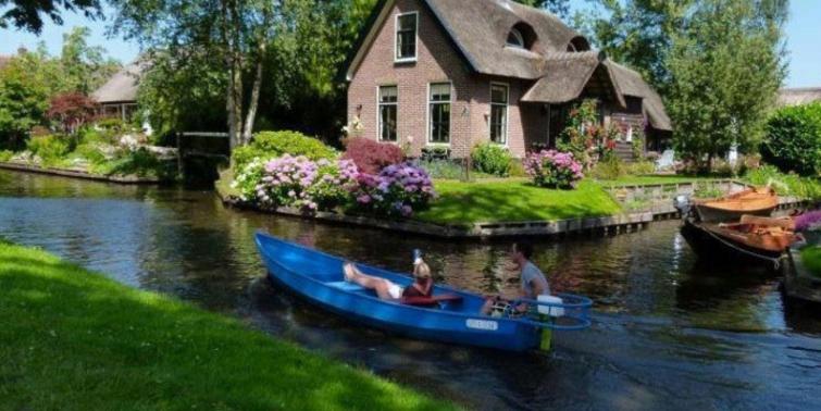 Bu köyde araba yasak: Giethoorn