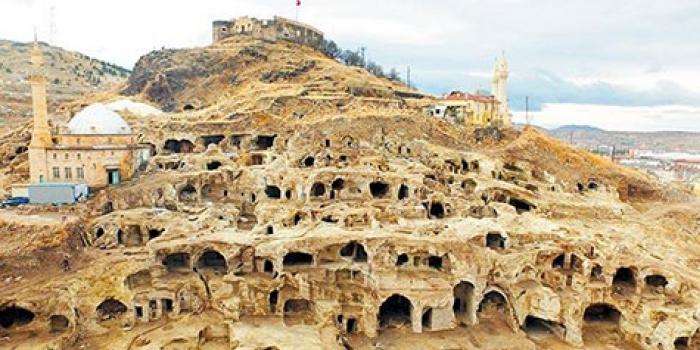 TOKİ'nin Nevşehir'de bulduğu yer altı şehri
