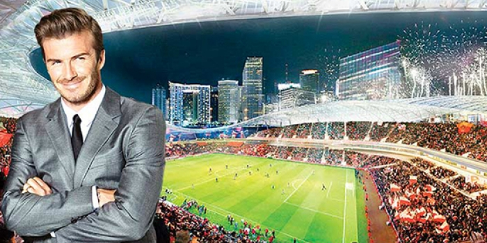 David Beckham 25 bin kişilik stat yaptıracak!