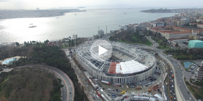 Vodafone arena son hali