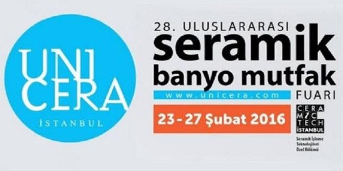 UNICERA Fuarı 23 Şubat'ta başlıyor