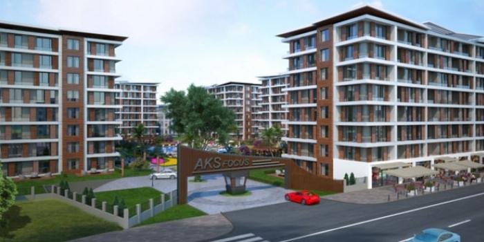 AKS Focus İstanbul daire fiyatları 250 bin TL'den başlıyor!