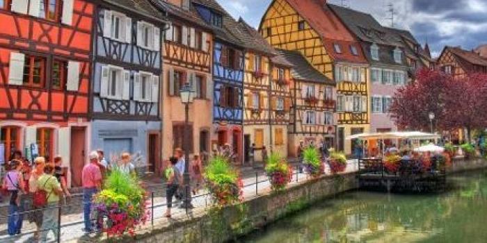 Sakinliğin kasabası Colmar