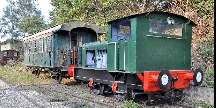Tarihi Gıdı Gıdı Treni yeniden hizmete girdi