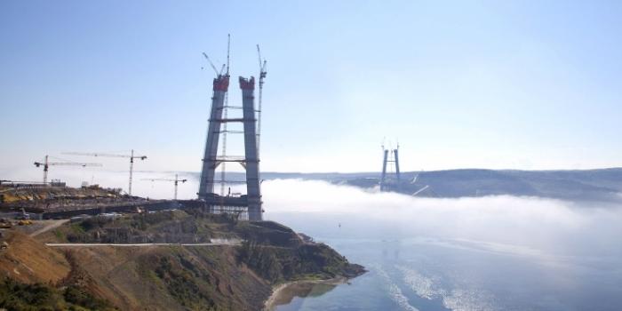 3. köprü inşaatı son durum