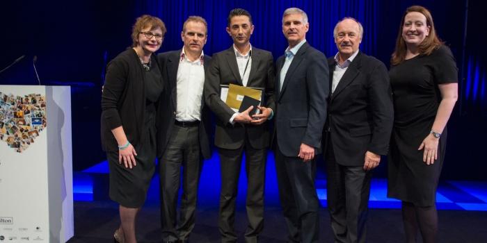 Hilton Worldwide yönetici ödülü Gaziantep'e gitti