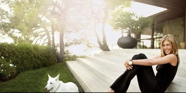 Jennifer Aniston'ın muhteşem evi