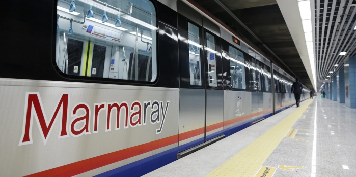 Marmaray'dan 265 milyon yolcu geçti