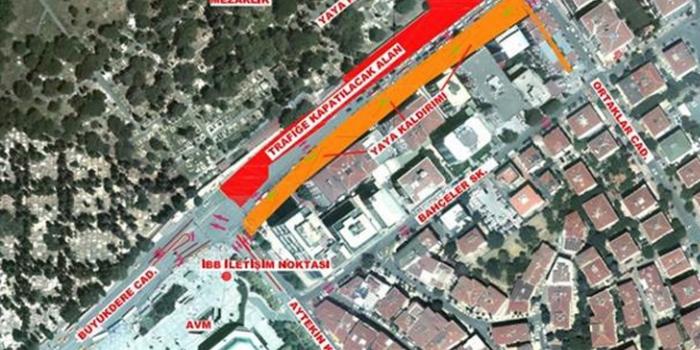 İstanbul'un merkezinde trafik 410 gün aksayacak