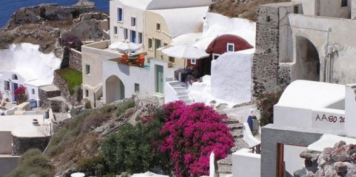 Yunanistan santorini