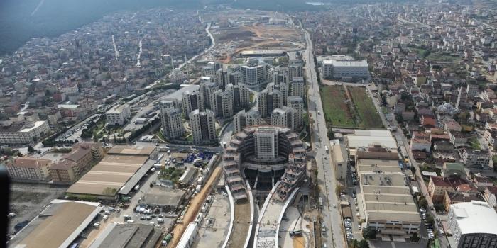 Mega projeler Sancaktepe'yi uçurdu
