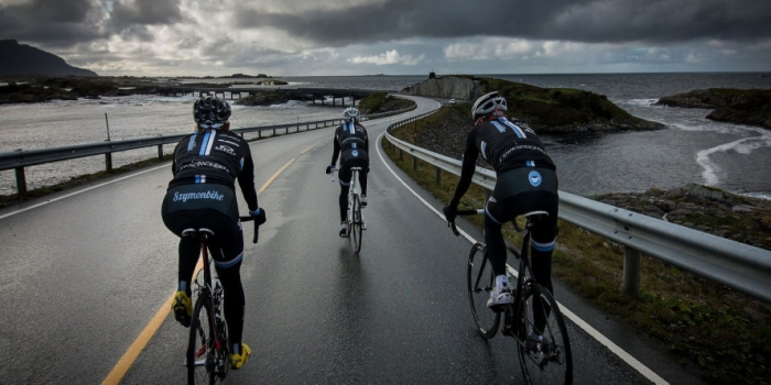 Süper bisiklet yolları norveç