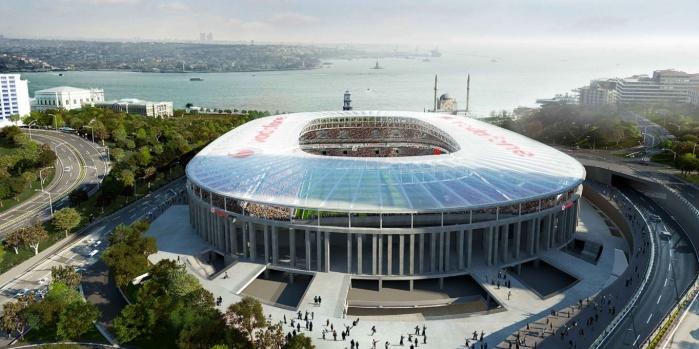 Vodafone Arena'ya Kalekim  imzası