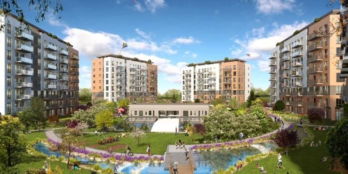 Sur Yapı'dan yeni proje: Gölbahçe Evleri