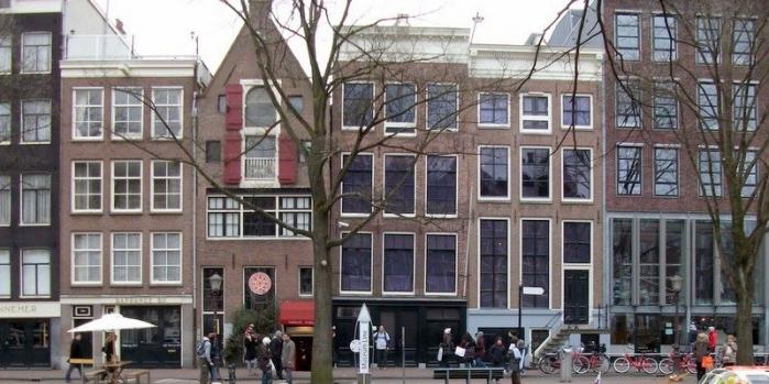 Anne Frank Evi nerede?
