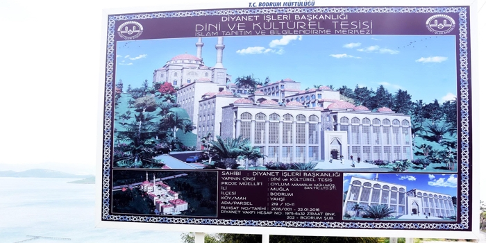 Diyanet'ten Bodrum'a İslam Merkezi
