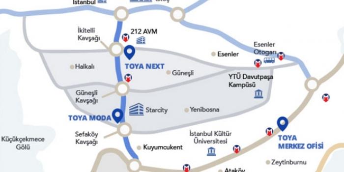 Toya Next nerede inşa edilecek?