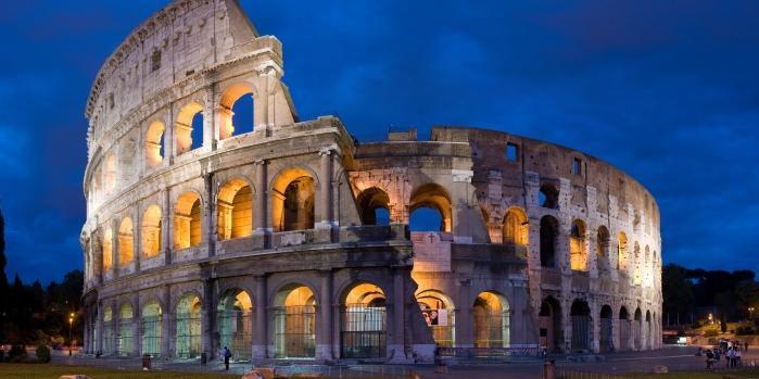 Gladyatörlerin arenası Kolezyum nerede?
