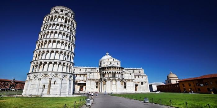 Pisa kulesi neden eğik
