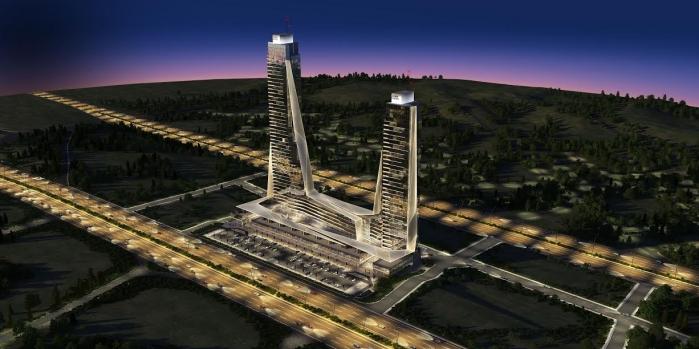 Elmar Towers'ta inşaat tüm hızıyla sürüyor