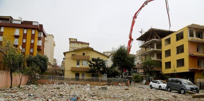 Maltepe Belediyesi'nden yıkımlara asbest standardı