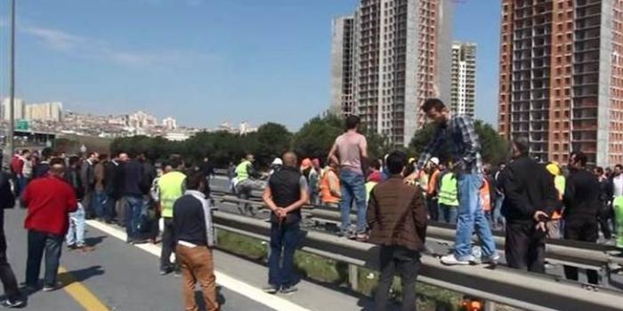 İstanbul bahçeşehir iş kazası