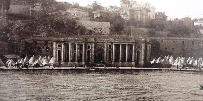 Feriye Sarayı nerede?
