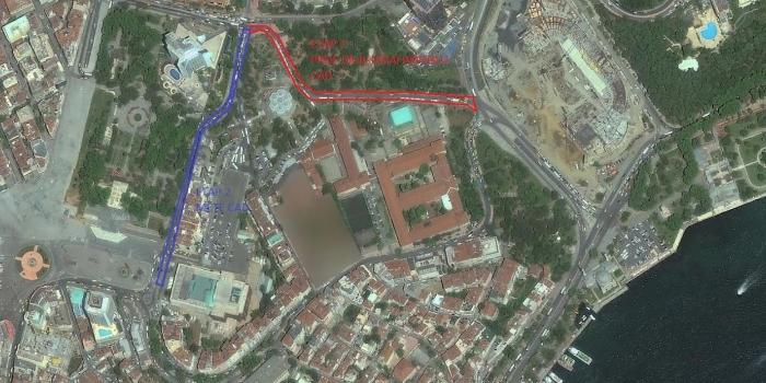 Taksim Meydanı Çevre Düzenlemesi'nde ikinci etap başlıyor