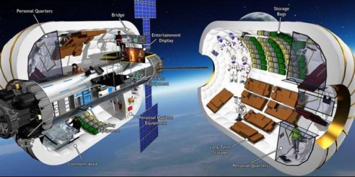 NASA'dan Mars için şişme ev
