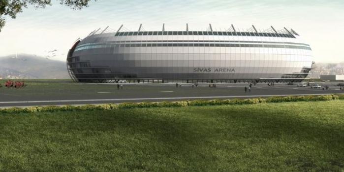 Türkiye'nin ilk ekolojik stadyumunda sona yaklaşılıyor