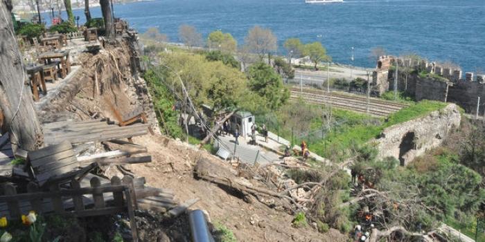 Gülhane'de göçük: 2 ölü