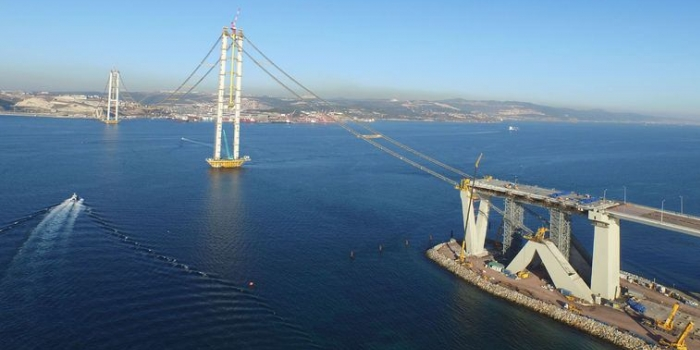 İzmit körfez geçiş köprüsü mayısta açılıyor