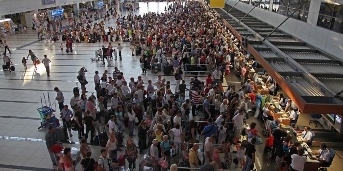 Atatürk dünyanın en yoğun 11'inci havalimanı